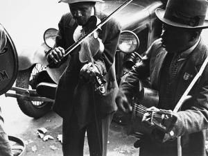 Street Musicians, 1935 by Ben Shahn