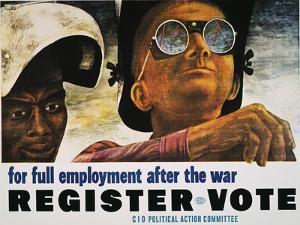 WWII: Employment Poster by Ben Shahn