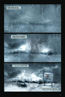 30 Days of Night: Return to Barrow - Comic Page with Panels by Ben Templesmith