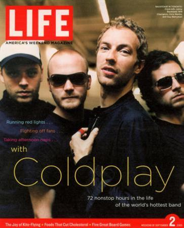 Coldplay Backstage, Air Canada Centre, Toronto, September 2, 2005