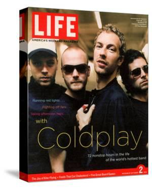 Coldplay Backstage, Air Canada Centre, Toronto, September 2, 2005 by Ben Watts