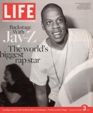 Rapper Jay-Z, November 3, 2006 by Ben Watts