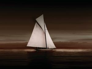 Lady Anne Sailing Sepia by Ben Wood