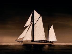Sailing Off Sepia by Ben Wood