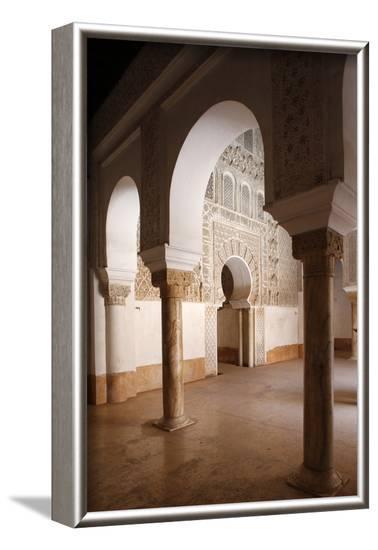Ben Youssef Medersa, the largest Medersa in Morocco-Godong-Framed Photographic Print