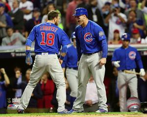 Ben Zobrist & Anthony Rizzo Game 6 of the 2016 World Series