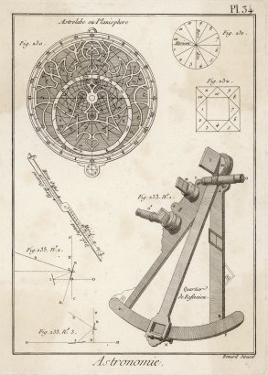 Astrolabe and Quadrant by Benard