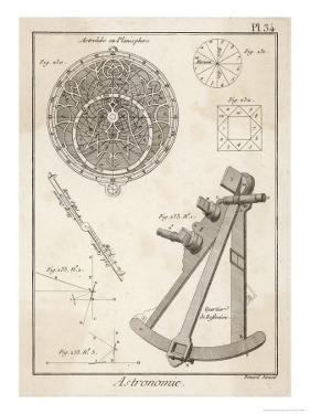 Astrolabe and Quadrant by Benard