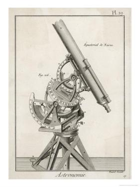 Nairn's Equatorial Telescope by Benard