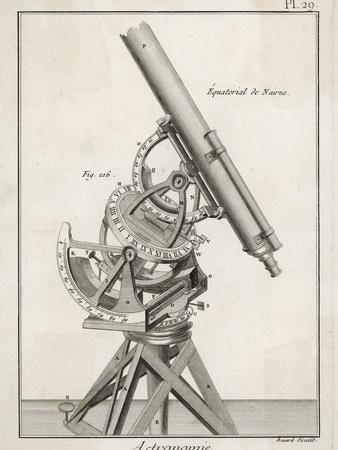 Nairn's Equatorial Telescope
