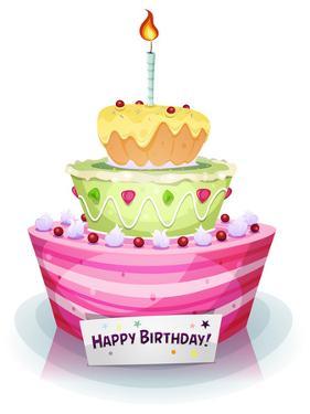 Birthday Cake by Benchart