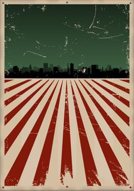 Grunge American Poster by Benchart
