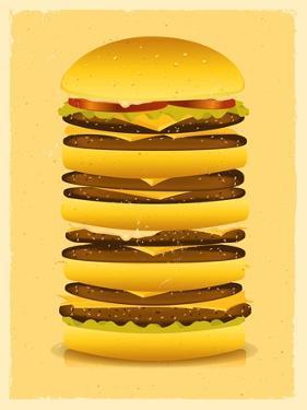Super Big Burger by Benchart