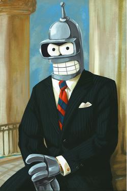 Bender As President Reagan