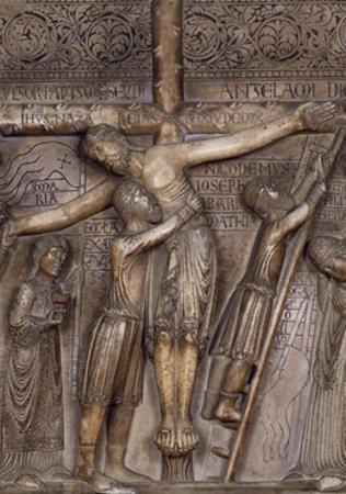 Descent from Cross, 1178 by Benedetto Antelami