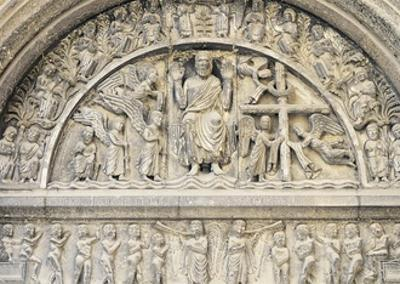 Last Judgement, Relief by Benedetto Antelami