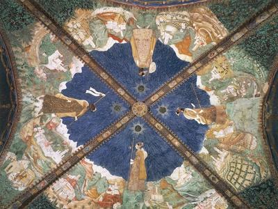 Bianca Pellegrini's Journey to Castle of Pier Maria Rossi on Vault of Golden Chamber