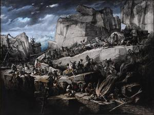 Hannibal Crosses the Alps by Bénédict Masson