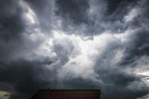 Dark Clouds over the House by Benjamin Engler