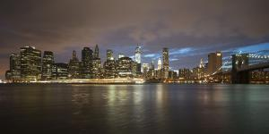 Long-Exposure Photography, View at Manhattan, New York, Usa by Benjamin Engler