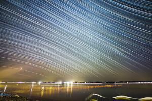 Star Trail Photography at Lake Starnberg, Germany by Benjamin Engler
