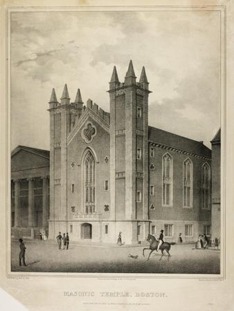 Masonic Temple, Boston, 1832
