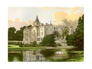 Adare Manor, County Limerick, Ireland, Home of the Earl of Dunraven, C1880 by Benjamin Fawcett