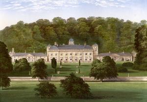 Castle Hill, Devon, Home of Earl Fortescue, C1880 by Benjamin Fawcett