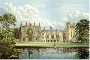 Newstead Abbey, Nottinghamshire, Home of the Webb Family, C1880 by Benjamin Fawcett