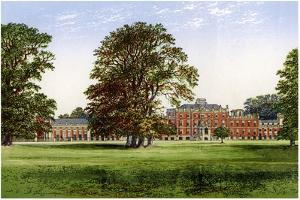Wimpole Hall, Cambridgeshire, Home of the Earl of Hardwicke, C1880 by Benjamin Fawcett