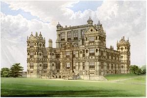 Wollaton Hall, Nottingham, Nottinghamshire, Home of Lord Middleton, C1880 by Benjamin Fawcett