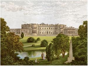 Wynyard Park, County Durham, Home of the Marquis of Londonderry, C1880 by Benjamin Fawcett
