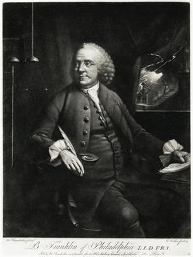 Benjamin Franklin, 1884-90