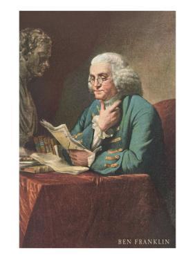 Benjamin Franklin Reading