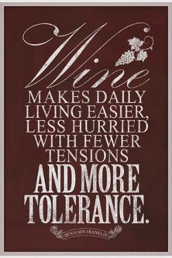 Benjamin Franklin Wine Quote