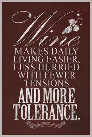 Benjamin Franklin Wine Quote