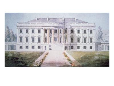 The White House in 1817
