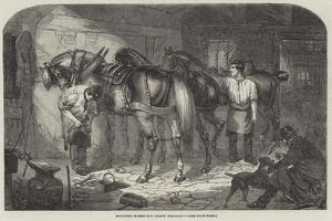Roughing Horses for Frosty Weather by Benjamin Herring