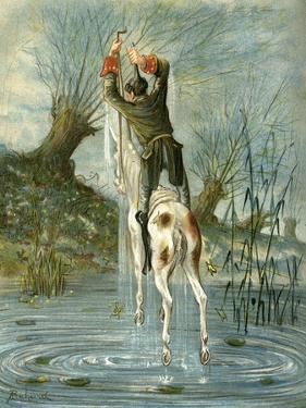 Robert Louis Balfour Stevenson by Benjamin J. Falk