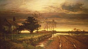 Burnished Sky by Benjamin Leader