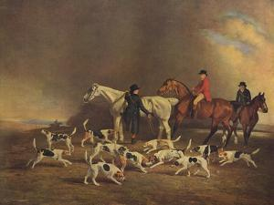 John Powlett and His Hounds, (C18th to 19th Centur), 1929 by Benjamin Marshall
