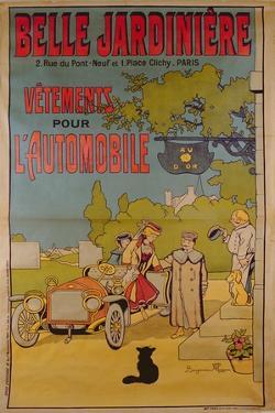 Poster Advertising 'La Belle Jardiniere' Department Store, 1922 by Benjamin Rabier