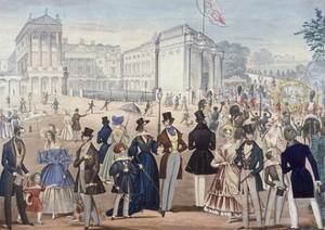 Buckingham Palace, London, 1839 by Benjamin Read