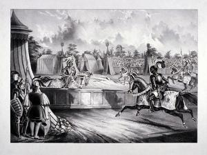 Eglinton Tournament, the Tilt-Yard of the 19th Century, Near the Regent's Park, London, 1839 by Benjamin Waterhouse Hawkins