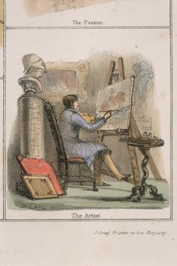 The Artist, C. 1845 by Benjamin Waterhouse Hawkins