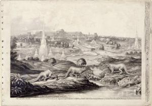 The Crystal Palace by Benjamin Waterhouse Hawkins