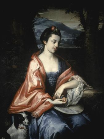 Ann Allen, Later Mrs John Penn, August 1763 by Benjamin West