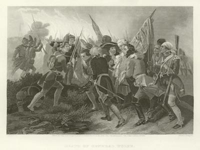 Death of General Wolfe by Benjamin West