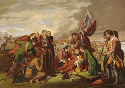 Death of Wolfe by Benjamin West