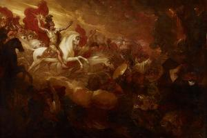 Destruction of the Beast and the False Prophet, 1804 by Benjamin West